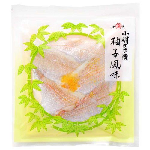 小鯛ささ漬柚子風味真空40g