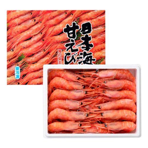 日本海甘えび子無し中(35尾入り)